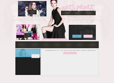 Design Version #002 ft Barbara Palvin by katedesigns
