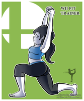 SSB Ultimate Collection: Wii Fit Trainer by Rublitz-Art