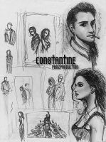 Constantine sketches by pbozproduction
