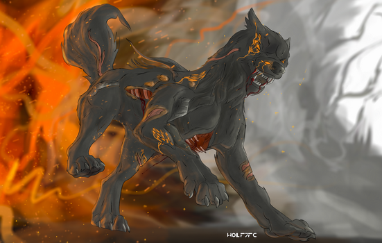 Infested Kubrow 'Concept' by Wolf7FC