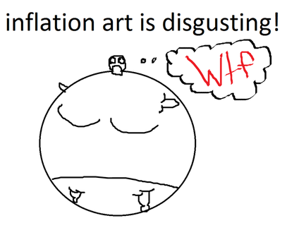 Inflation art.. by MajesticWolfxX