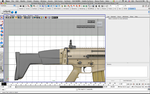 FN Scar Stock WIP 2 by SculptySkeptic