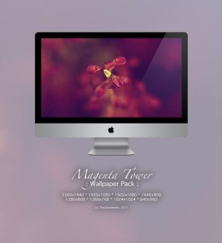 Magenta Tower WP Pack by CayaStrife
