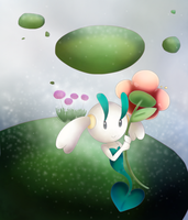 Floette w/Background