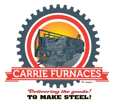 Carrie Furnaces Scale Car by yankeedog