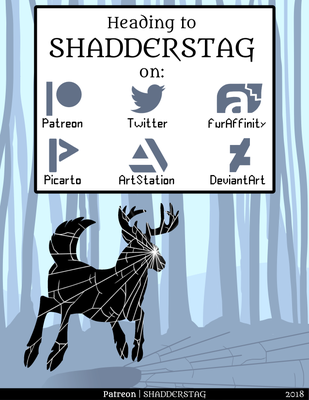 MOVED - Follow me at Shadderstag by Battleferrets