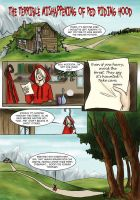 Red Riding Hood pg1 by LilyScribbles