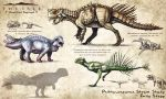 The Isle Fan Concept - Psittacosaurus Strains by EmilyStepp