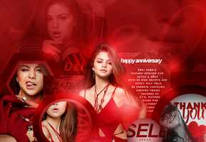 SelenaG| Happy Anniversary by lxps
