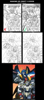 Making of DRIFT 3 Cover by GuidoGuidi