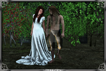 Genesis 2: Adam and Eve by Subtle-War