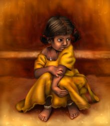 Southern India Girl by Pandora-Gold
