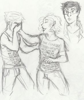 Matching Shirts Because Why Not by Shartruse