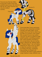 Vara's step mother + Backstory by MischievousArtist
