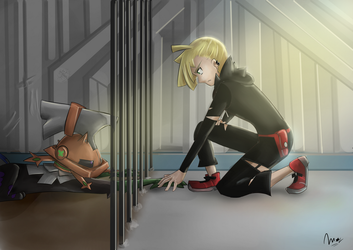 Gladion and Type Null Gladio y Codigo Cero by Monchimon22
