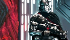 Captain Phasma by JohnOsborne