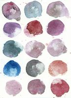 15 Moons TEXTURE, colorful version by jane-beata