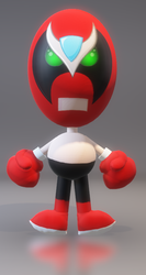 Paint 3D Strong Bad by mrnutt