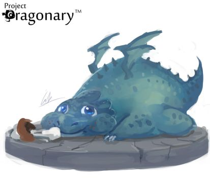 Project Dragonary- Thanks giving dragon! by CGlas