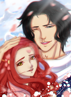 AT w/ Hatochan19 || Ace and Hatomi by Shxnn