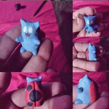 Catbug! by helibell