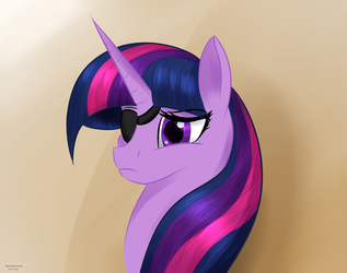 I am Eyepatch and I wear an eye patch.. by Renarde-Louve