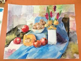 Still life homework by Seseyaki