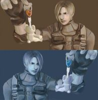Leon-Resident Evil4 by DYKC