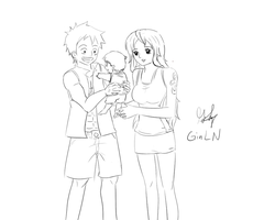 Monkey D Family by GinLN
