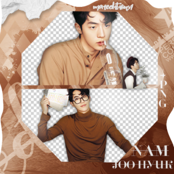 #PACK PNG# Nam Joo Hyuk. by MarEditions1