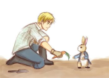 APH: Peter rabbit by deathbybroccoli