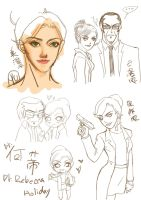 exercise book - Dr. Rebecca Holiday by yujing229