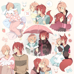 toru and ame sketchpage by shouu-kun