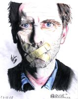 Dr House - Hugh Laurie by Pedro-0