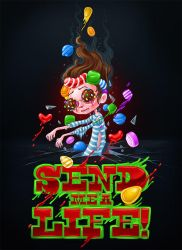 Candy Crash Zombie by Kluke