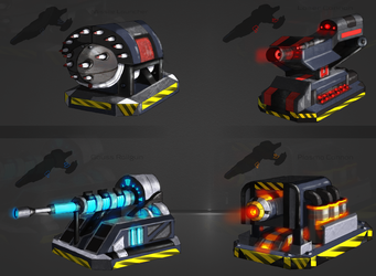 WFO - Mounted Ship Weapons by BioticShark