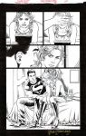 TEEN TITANS #88 SUPERBOY and CASSIE Tender Moment by DRHazlewood