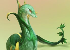 Serperior by R8A-creations