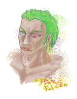 Zoro by DarkFalcon-Z