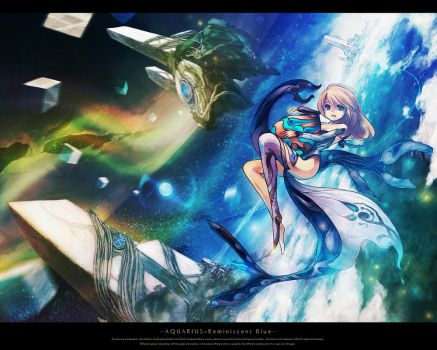 Aquarius ::Reminiscent Blue by Resona-Raille