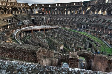 The Colosseum by -aster