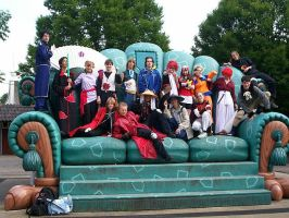 -Cosplay- Group of Cosplayers by Meredith-de-Drac