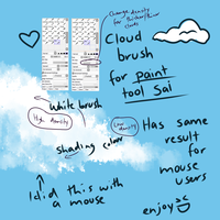 Cloud Pen for Paint tool sai by Ponacho