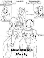 Ducktales Party by skyvolt2000