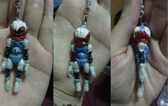 Persona 3: Orpheus Clay Charm by Jounin-SZ