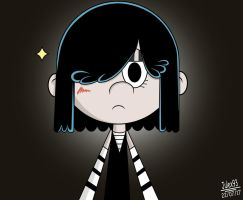 Cute Lucy Loud (color) by Julex93