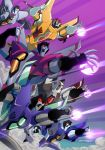 TFA  Seekers Botcon print by MarceloMatere