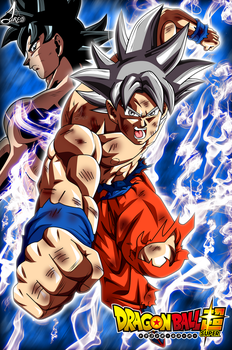 Poster Son Goku Perfect Ultra Instinto by jaredsongohan
