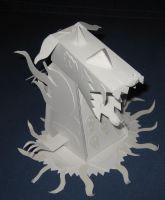 Papercraft Monster Right Side by JasonYoungdale