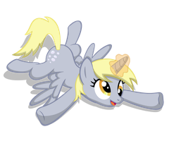 if Derpy Hooves was an Alicorn... by Neriani